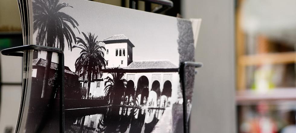 Alhambra postcards in Spain
