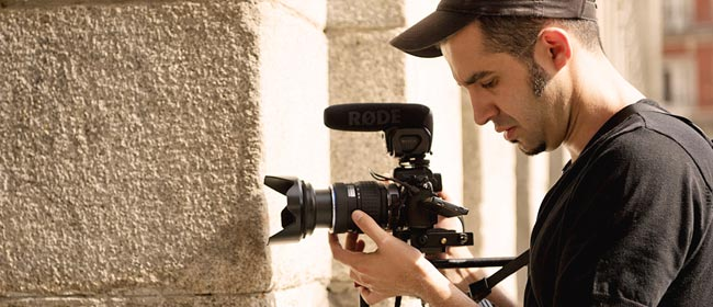 Juan-Manuel Canero - ECI photographer, cameraman and video editor