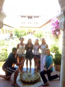 Alhambra Patio