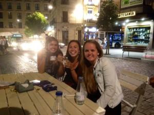 Goodbye Salamanca desserts
