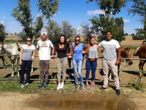 Group at the Finca
