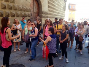Group tour in Segovia
