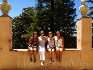 Highest point of the Alhambra