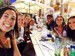 Last supper in Salamanca