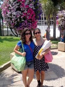 Marina & Valentina on La Croisette