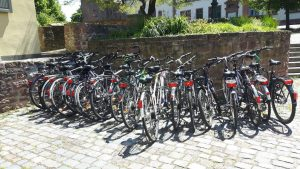 Our bikes – ready for our adventure!
