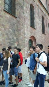 Guided tour at the Dom (Speyer cathedral)