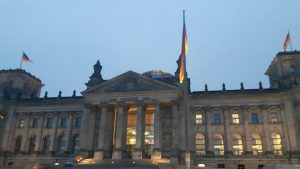 The Reichstag – where the German parliament sits