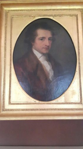 Portrait of Goethe at 30