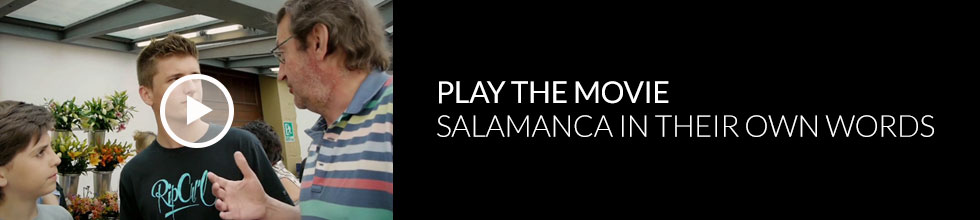 Click to play ECI Salamanca in their own words video