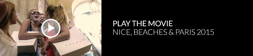 Click to play Nice Beaches and Paris Program 2013 video